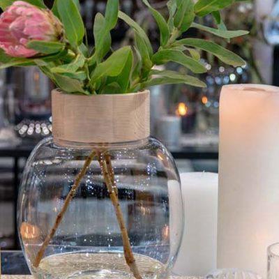 DECORATIVE POLISH GLASS